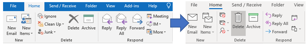 Changes to the Microsoft Office Ribbon (again!) for Office