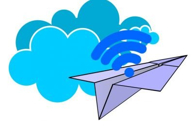How does inflight Wifi work?  (Being on the cloud while in the clouds)