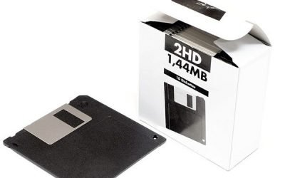 Nostalgia – Floppy Disks flying high in 2020